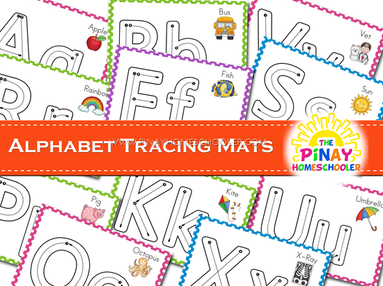 Alphabet Writing Practice Mats