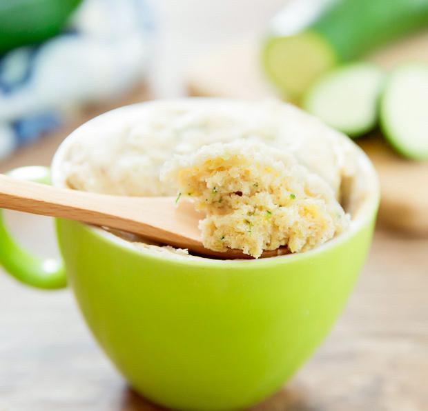 close-up photo of Zucchini Mug Cake