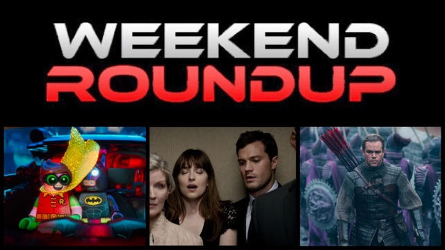 Weekend roundup 39 lego batman 39 39 fifty shades darker - Movie box office results this weekend ...