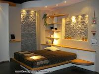 Phòng Ngủ Đẹp Với Các Yếu Tố Đá Trang Trí - Thi công trang trí nội thất