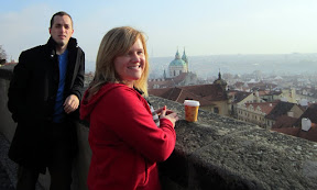 Prague, and one slightly hungover sister