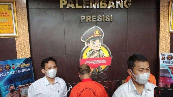 Ketua RT dan Warganya di Palembang Nyabu Ditangkap Polisi