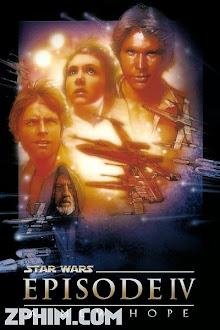 Chiến Tranh Giữa Các Vì Sao 4: Niềm Hy Vọng Mới - Star Wars 4: A New Hope (1977) Poster