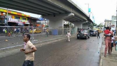 IKEJA-UNDER BRIDGE TAKES A NEW LOOK BY GOVERNOR AKINWUNMI AMBODE - AgegeTv