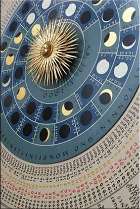 Astrolabio - Iglesia Santa María de Lübeck