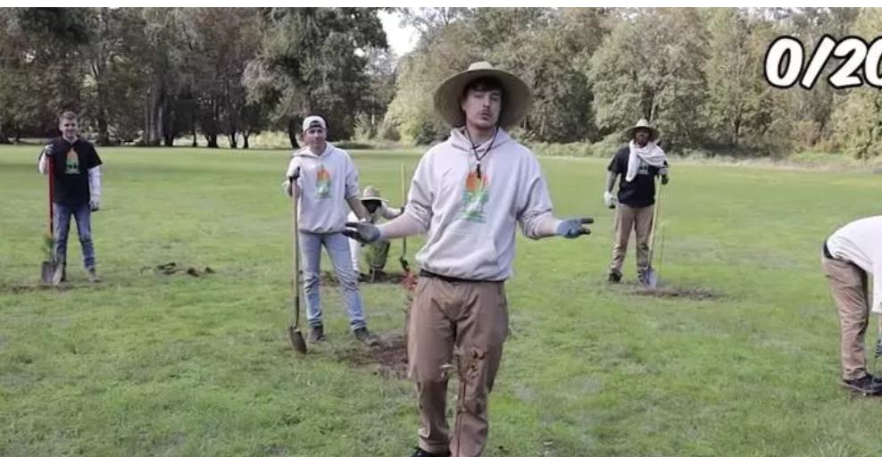 Kampanye Para YouTuber Tanam 20 Juta Pohon Raih Donasi $20 Juta, Atta Halilitar Tidak Ada ?