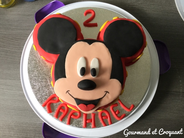Gateaux tete de mickey - Decoration mickey anniversaire ...