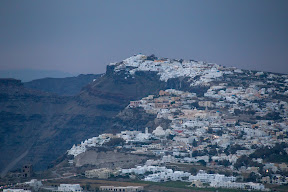 Fira, from Pyrgos