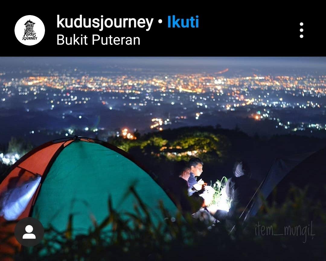 Bukit Puteran camping ground