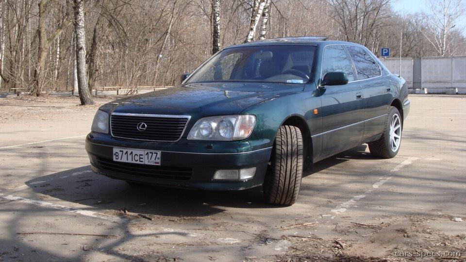 1996 Lexus Ls 400 Sedan Specifications Pictures Prices