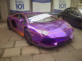 Seized Lamborghini