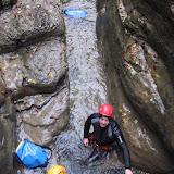 Canyoning Jura - Gros Dard - Toussaint 2008