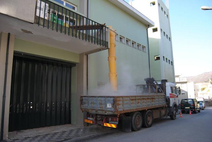 Bombeiros de Lamego - Obras de melhoramento do quartel