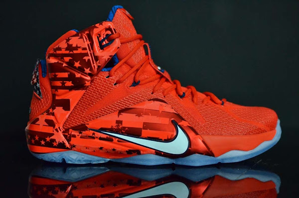 Look Away If Youre Not a Fan of Independence Day LeBron 12