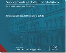 Supplementi al Bollettino Statistico. Maggio 2016