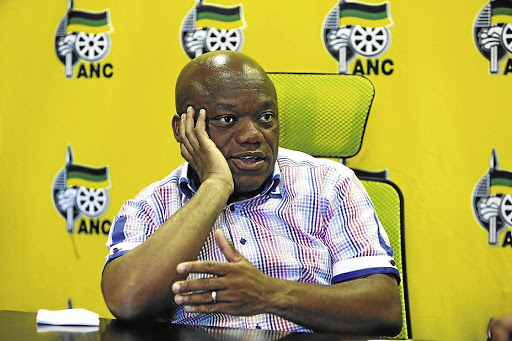On the other hand: Sihle Zikalala was elected as ANC KwaZulu-Natal chairman in November 2015. He is appealing against a high court ruling that the election was illegal. Picture: SUNDAY TIMES