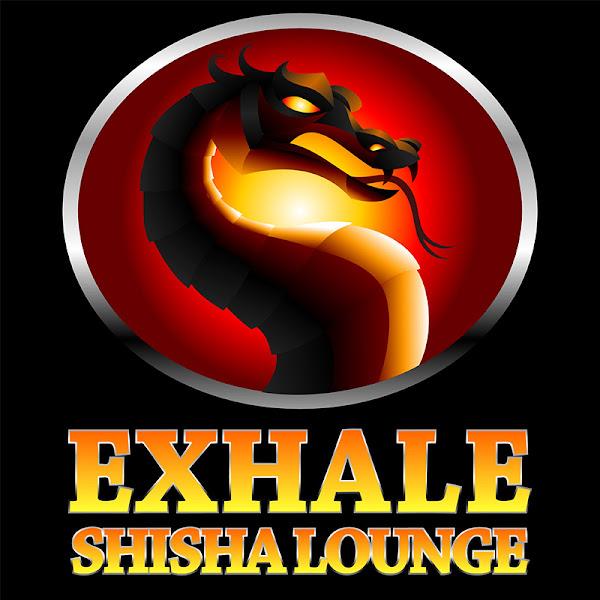 shisha bar logo design