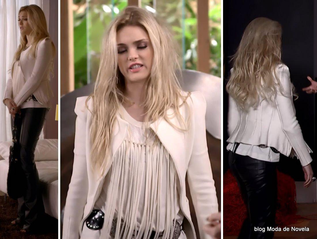 moda da novela Geração Brasil - look da Megan dia 16 de julho