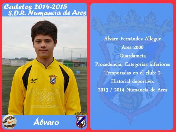 ADR Numancia de Ares. ALVARO.