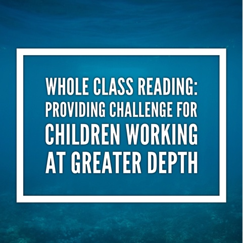 Whole Class Reading: Providing Challenge For Children Working At