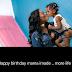 Davido wishes his babymama Sophia a happy birthday!