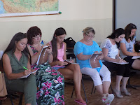 Az iskolában alkalmazható konflikutuskezelő módszereket tanulnak a pedagógusok.JPG