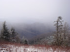 Snow on the Appalachian Trail