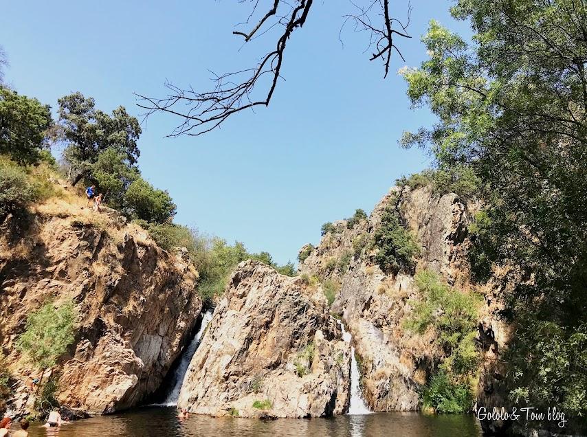 Ruta Cascada del Hervidero con niños