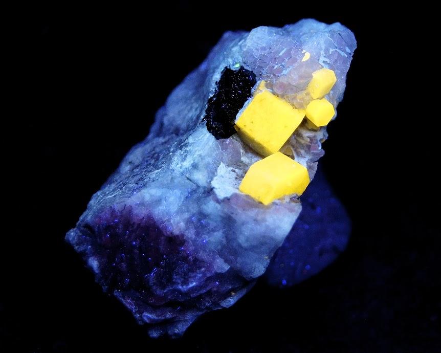 Colección de Minerales Fluorescentes _DSC4678