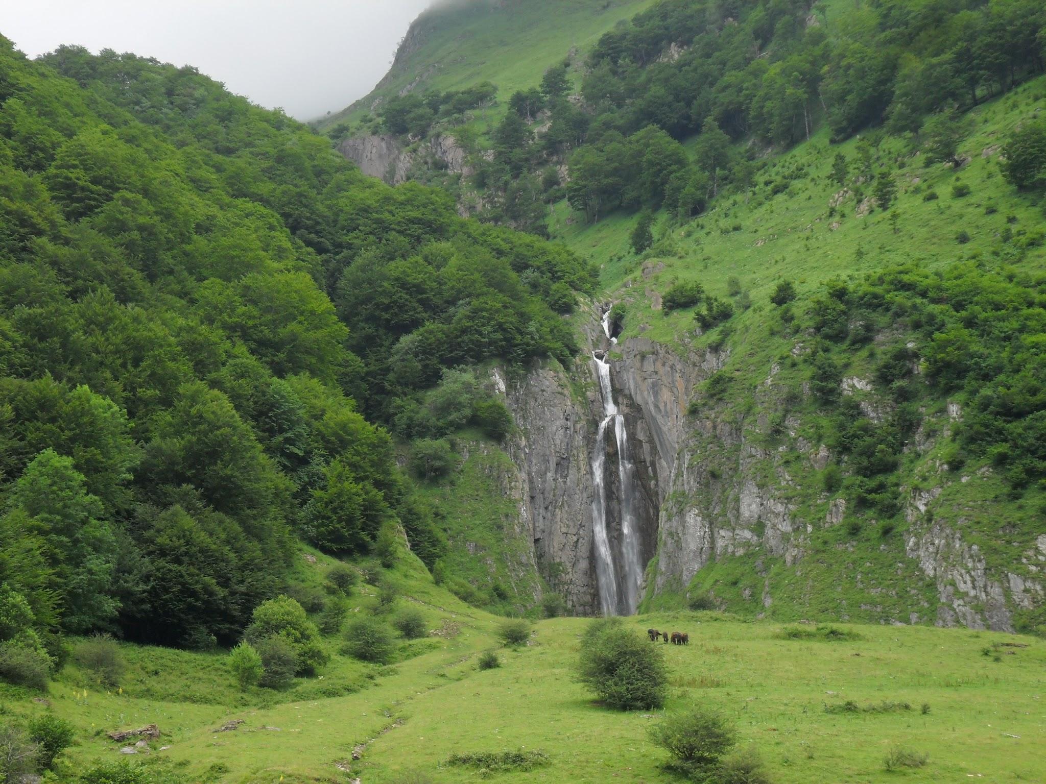 Cascade d'Arcouzan