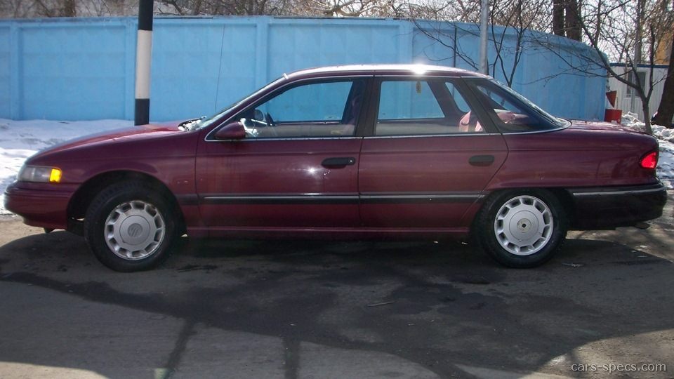 1995 mercury sable sedan specifications pictures prices. Black Bedroom Furniture Sets. Home Design Ideas