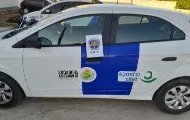 Carro da Prefeitura de Afogados é usado por jovens para ação criminosa