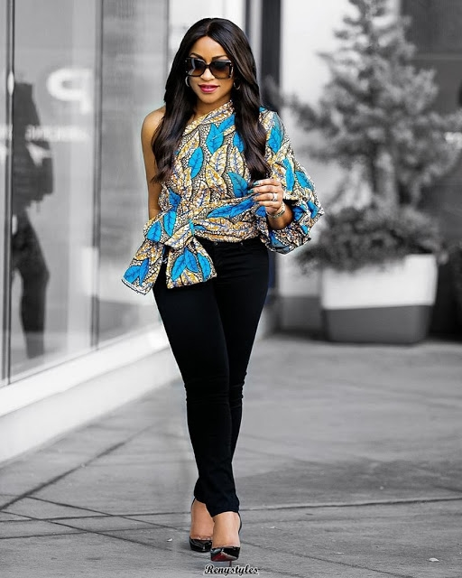 Perfect Ankara Dress to sew this week