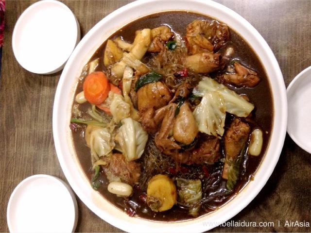 안동명가 찜닭, makanan halal korea, chcken stew korea