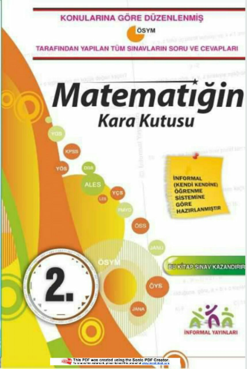 Matematiğin Kara Kutusu 2.kitap
