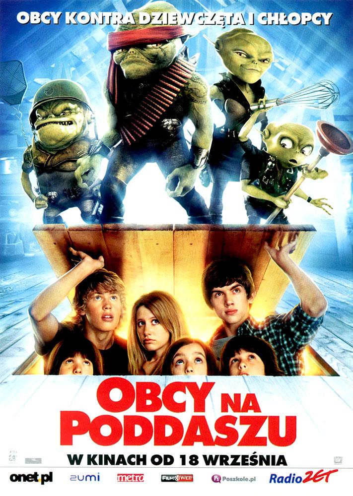 Ulotka filmu 'Obcy Na Poddaszu (przód)'