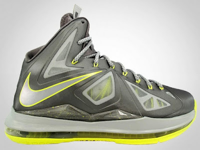 nike lebron 10 gr canary 3 00 2013 Nike LeBron X Yellow Diamond Canary   New Photos