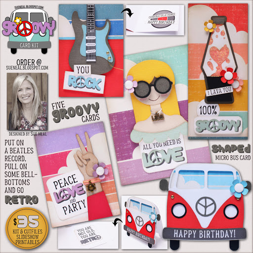 New Kit - GROOVY Cards