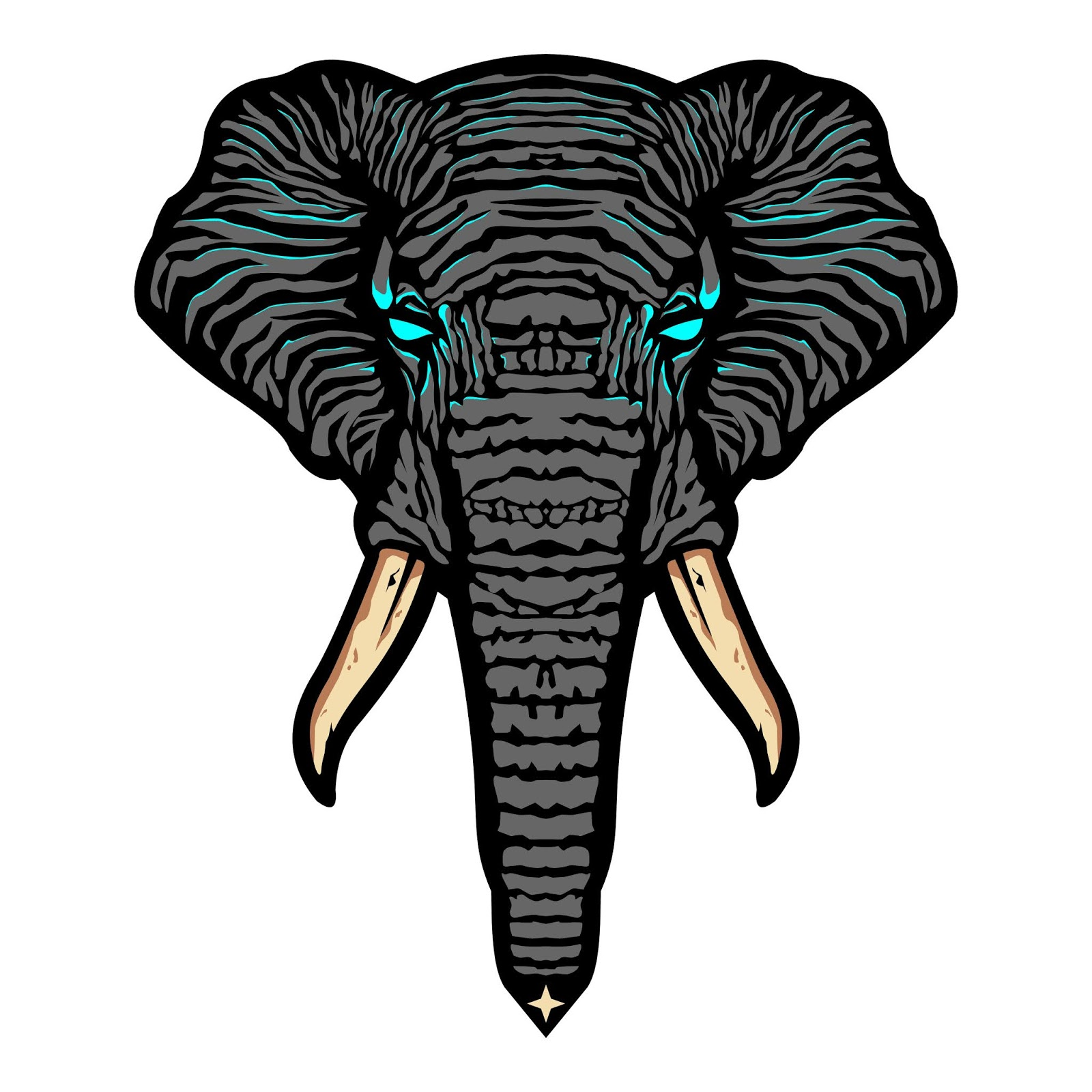 Elephant Head Free Download Vector CDR, AI, EPS and PNG Formats