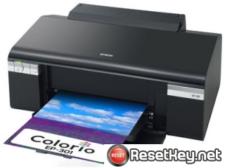 Reset Epson EP-301A printer Waste Ink Pads Counter
