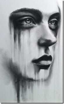 dibujos lapiz llorar y tristeza  (18)