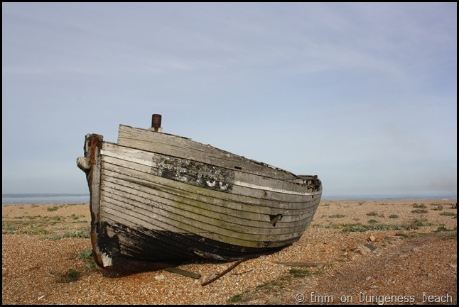 The ship on Dungeness beach