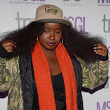 WWW.ENTSIMAGES.COM -    Misha B   arriving    at      The MediaSkin Gifting Lounge at Stamp 79 Oxford Street London November 6th 2014                                                 Photo Mobis Photos/OIC 0203 174 1069
