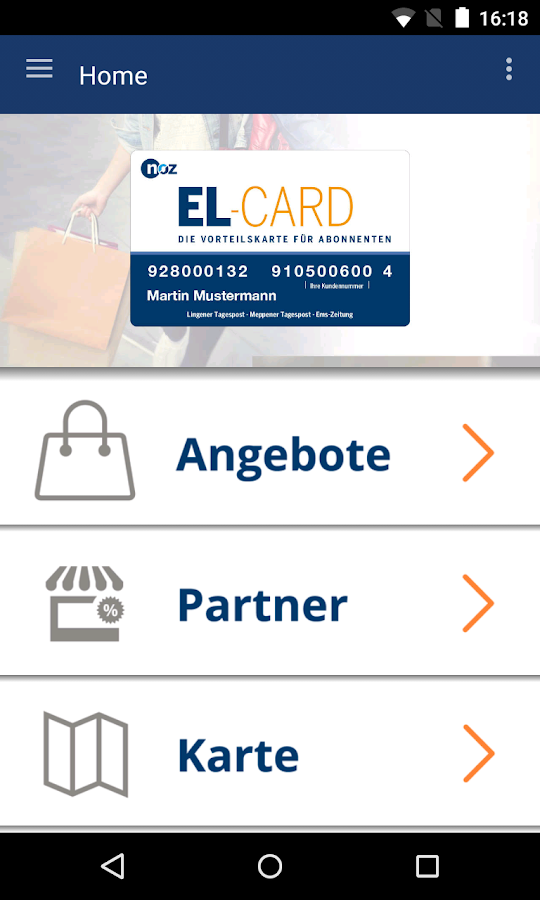 EL-CARD- screenshot