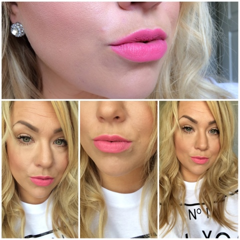 Review and lip swatches of lime crime Geradium
