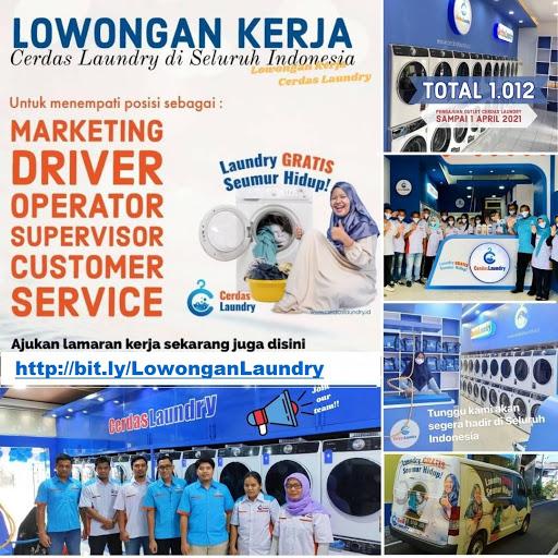 Kami membutuhkan lebih 2.200 karyawan (Untuk outlet Laundry di seluruh wilayah Indonesia)