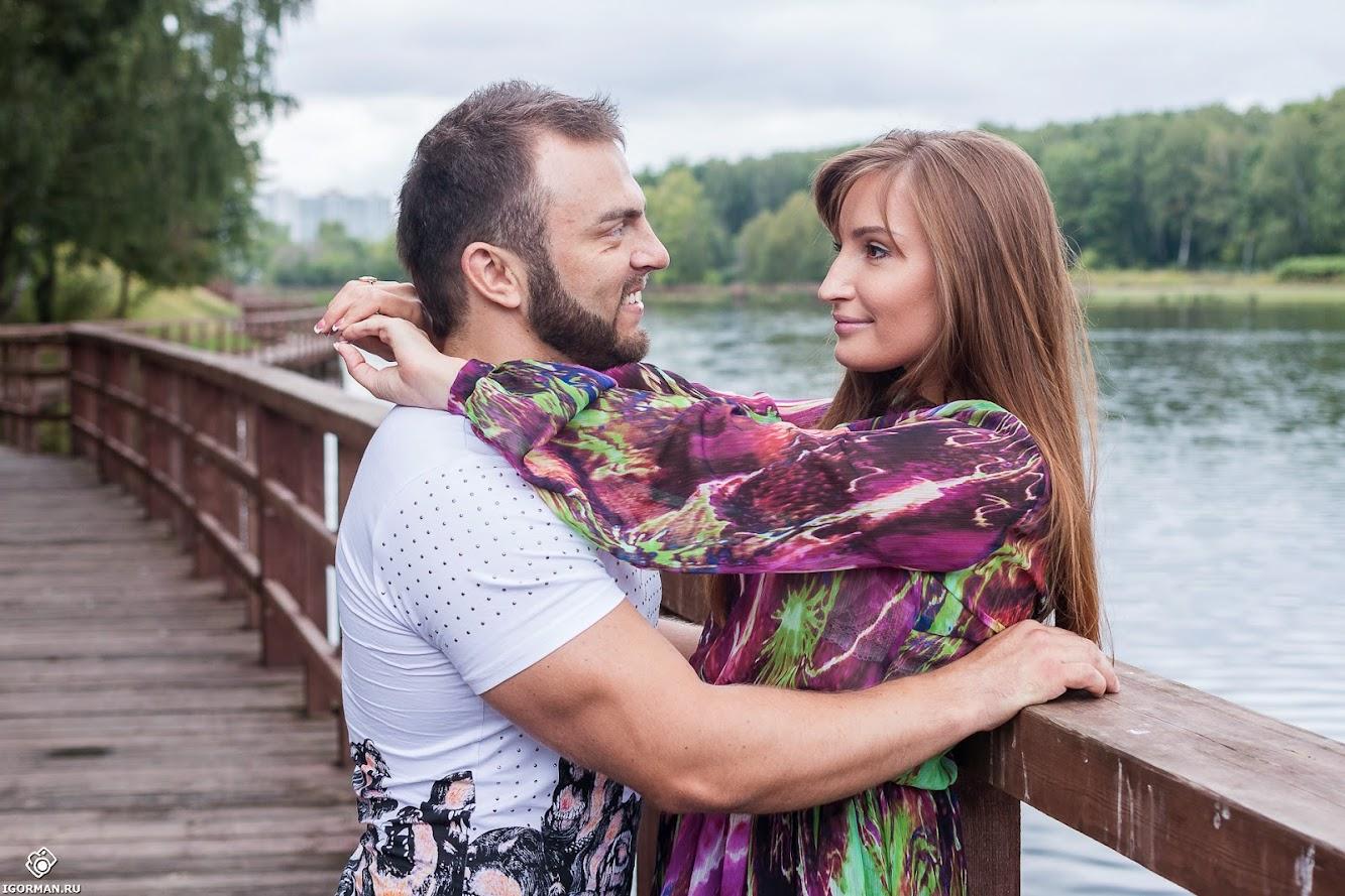 Романтическая фотосъемка Love Story
