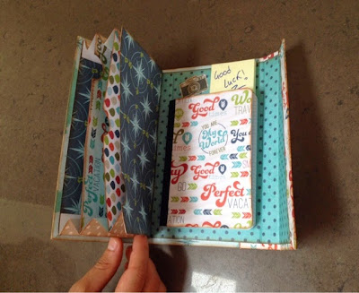 travel book hand made