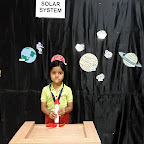 Show and Tell activity - Space (Jr.KG.) 21-3-2018