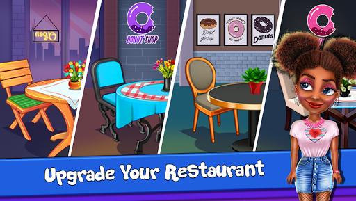 Donut Truck - Cafe Kitchen Cooking Games 1.2.1 screenshots 7